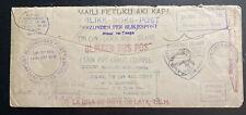 1941 Jacksonville FL USA Tin Can Canoe Mail cover To Niuafoou Tonga Toga