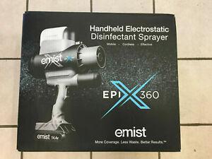 🍀 NEW SEALED Emist EPIX360 Electrostatic Disinfectant Sprayer Cordless Handheld