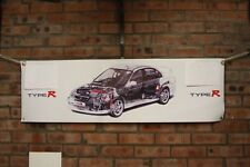 Honda accord Type R large pvc  WORK SHOP BANNER garage  SHOW BANNER