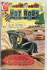 Hot Rods And Racing Cars #105-1970 fn Charlton / Jack Keller
