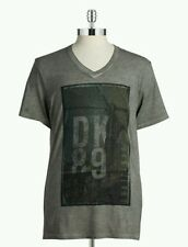 DKNY JEANS Heathered Graphic Tee Size S