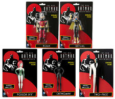 The New BATMAN Adventures - 5er Set Biegefigur Robin Batgirl Poion Ivy DC KB13 *