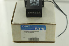 EATON DURANT 6-Y-41345-406-ME 6 DIGIT BASE MOUNT MINI ELECTRIC COUNTER NEW