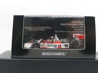 Minichamps Mclaren Ford M23 1976 Japan GP Winner James Hunt Slick Tyres 1:43 MIB