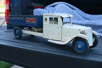 Steelcraft Playboy City Ice Co Delivery Truck 1930s - Pressed Steel - USA