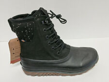 Bogs Classic Casual Tall Waterproof Boots, Black, Women's 9 M