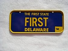 1986 DELAWARE Post Cereal License Plate # FIRST