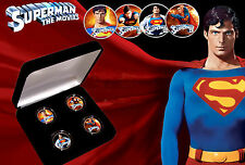 Superman-Christopher Reeve les films quarts Coin Set avec COA