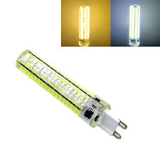 10pcs Dimmable 10W G9 136-5730SMD LED Silicone BULB AC110V/220V LAMP WHITE/WARM