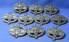 Vietnam War Army Cmb Combat Medic Badges Lot Of 10 by Krew