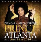 PRINCE CD x 2 ATLANTA 2016 - 7pm and 10pm Shows - 2CD Set GOLD (<ô>) Records