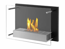 Senti - Ignis Wall Mounted Ventless Bio Ethanol Fireplace - Eco Friendly