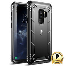 Poetic® For Galaxy S9+ [Double Layered] Shockproof Hard Shell Case Cover Black