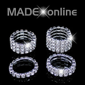 Stretchy Sparkle Ring,  Elasticated Bling Rings
