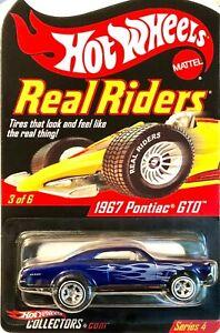 Hot Wheels 2004 RLC Real Riders Ser 4 3 of 6 1967 PONTIAC GTO H2931 3221 / 11000