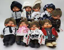 """Random Pattern Color Monchhichi Baby Soft Plush Doll Sekiguchi Monkey New 7"""""""
