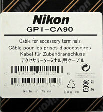 Nikon GP1-CA90 Cable for GP-1 use with D90 Digital SLR