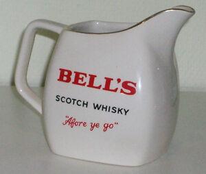 BELL´S 14 cm Single Malt Scotch Whisky Krug Whiskykrug Wasserkrug BELLS K01K3