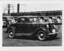 1934 Plymouth PG Coupe, Factory Photo (Ref. #67222)