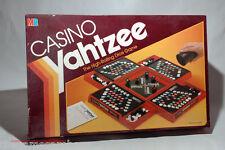 Casino Yahtzee Dice Game Milton Bradley 1986 COMPLETE (read description)