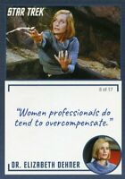 Star Trek TOS Archives & Inscriptions card #14 DR Elizabeth Dehner Var 8 of 17