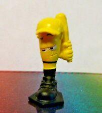 Zuru Smashers #66 WIPE OUT Yellow Mini Figure Mint OOP