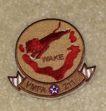 VMFA-211 Wake Island Avengers F-35B JSF Squadron Desert Chest Patch New USMC