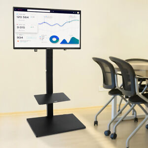 "Swivel Floor TV Stand Mount for 32-65"" Plasma LCD LED Universal Television Rack"