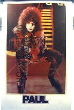 70's Kiss Paul Stanley destroyer Tour Concert Rock Orig Vtg t-shirt iron-on Nos