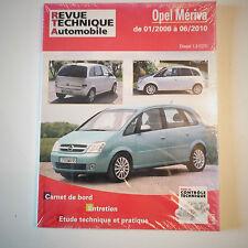 Opel Meriva diesel 1.3 Cdti revue technique automobile RTA CIPB743.5