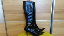 Dolce & Gabbana real EEL leather women boots