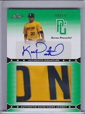 KEVEN PIMENTEL 2013 Leaf Perfect Game Autograph Patch Green #08/10 #KP1 (B8426)