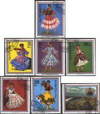 Paraguay 3396-3402 (edición completa) usado 1981 trajes regionales