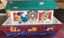 Hallmark NOAH'S ARK Christmas Card Holder decoration