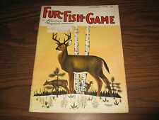 VINTAGE 1968 Fur-Fish-Game Mag DECEMBER ISSUE; WHITE TAIL DEER