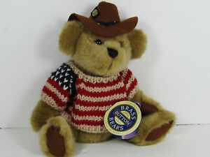 Brass Button Collectibles Cody The Bear of Friendship Plush Brown With Tags