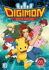 Digimon Data Squad . Digital Monsters . The Official Fifth Season 5 . 8 DVD NEU
