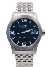 Orologio Locman Island Automatico 615ACBL/460 Acciaio 40mm Scontatissimo Nuovo