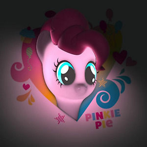 My Little Pony 3D LED Wall Night Light Pinkie Pie Battery Powered Wall Sticker
