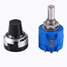 1pcs 10K Ohm 3590S-2-103L Rotary Wirewound Precision Potentiometer Pot 10 Turns