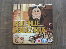 THE TIMES NEWSPAPER-BELLEVILLE RENDEZ-VOUS- PROMO DVD