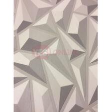 3D Style Geometric Wallpaper Embossed Luxury Vinyl Modern Look By Erismann