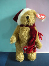 "Retired Ty Attic Treasure 8 Inch Bear ""Jingle"" with tags"