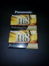 Panasonic Hi8 8mm Camcorder Video Tape 2pk