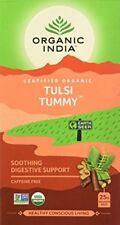 3 x Organic India Tea Tulsi Tummy- 25 Tea Bags