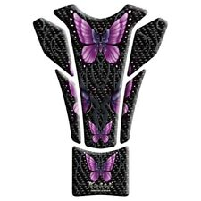 Lethal Threat Motorcycle Tank Pad LT70065 Purple Butterfly