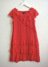 Country Road Solid Regular Size 100% Silk Dresses for Women