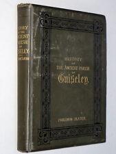 GUISELEY - Philemon Slater (1880 1st Ed) Illustrated Large Paper Yorkshire Leeds