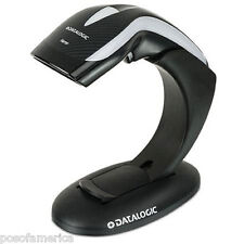 Datalogic Heron HD3100 POS Barcode Scanner Retail USB Kit Black Stand Cable NEW