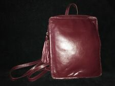 Latico Blair Burgundy Maroon Leather Backpack  7970 *NEW*